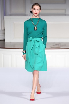 Oscar De La Renta Pre Fall 2011 Collection