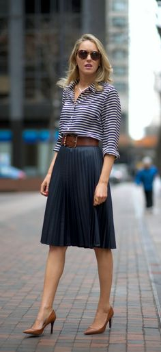 Adventures in Dressing Like a Lady – Midi Skirt Edition ...